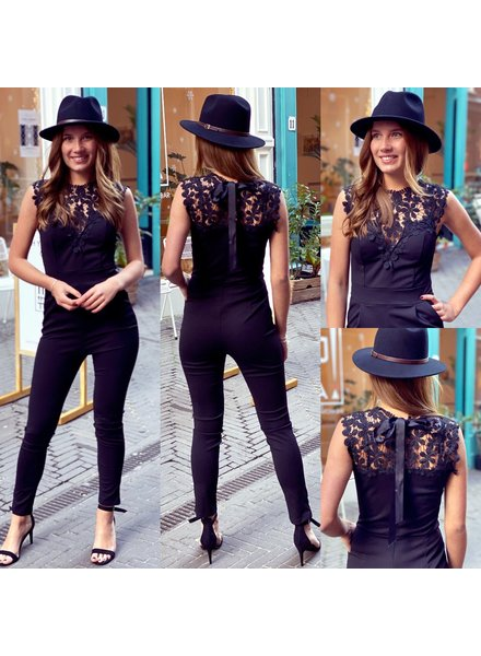 Perfect Lace Jumpsuit  PRE-ORDER
