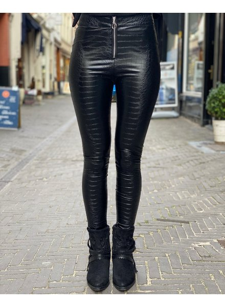 Zipper Croco Legging