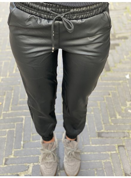 Leather Jogging