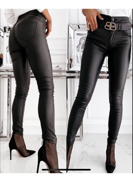 Musthave Leather Look Pants