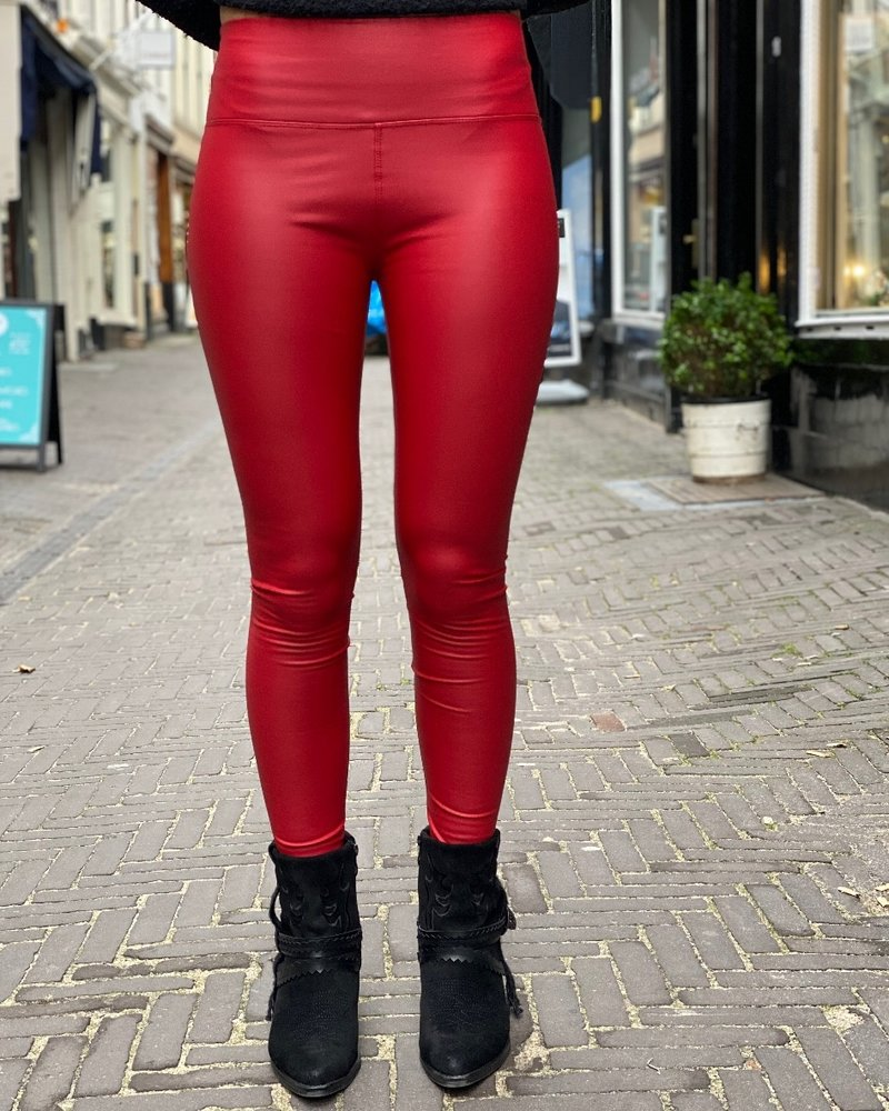 Leather Legging - Red