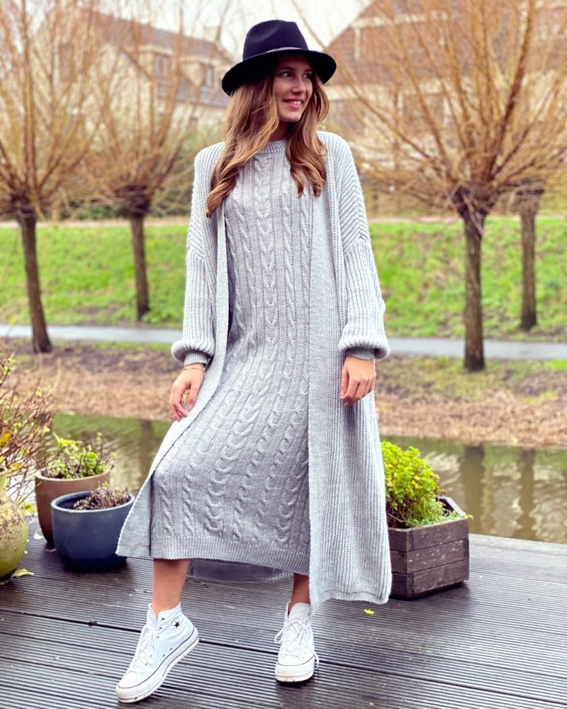 Classy Winter Set - Light Grey