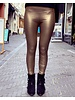 Leather Legging - Gold