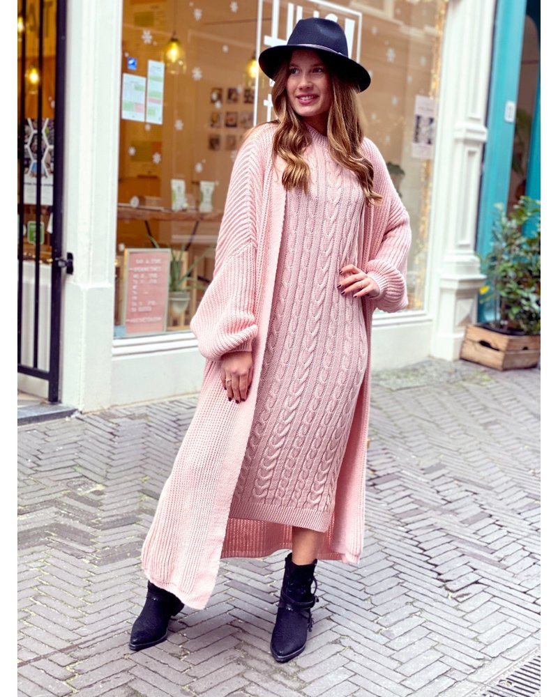 Classy Winter Set - Pink