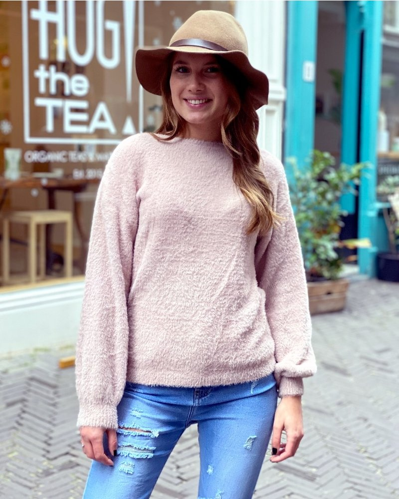 Fluffy Sweater - Light Pink