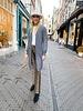Charlie Long Vest - Grey