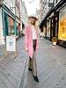 Charlie Long Vest - Pink