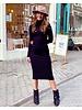 Pretty Col Dress - Black