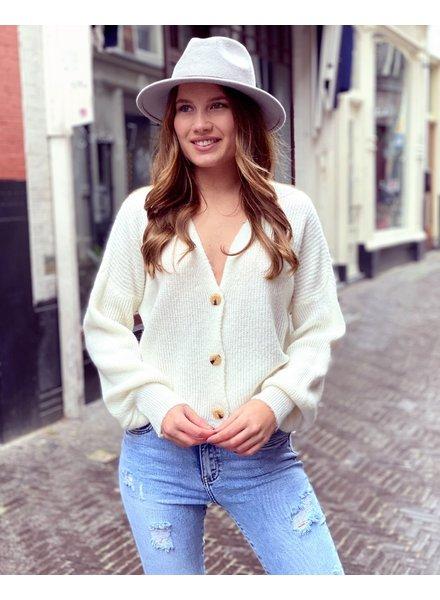 Claire Vest - White