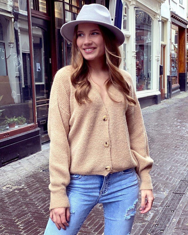 Claire Vest - Camel