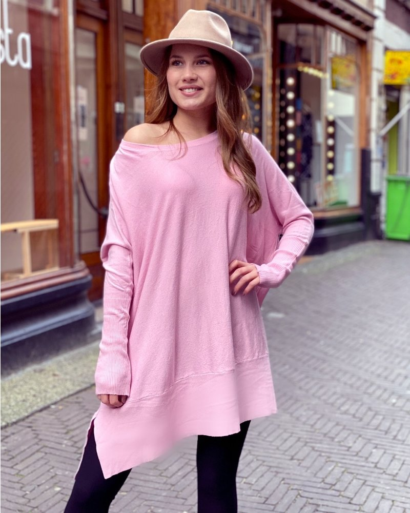 Oversized Sweater - Light Pink