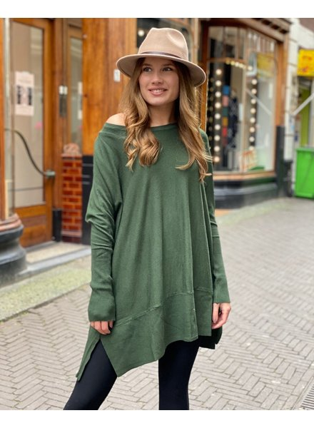 Oversized Sweater - Army Green