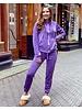 Jill Velvet Suit - Purple