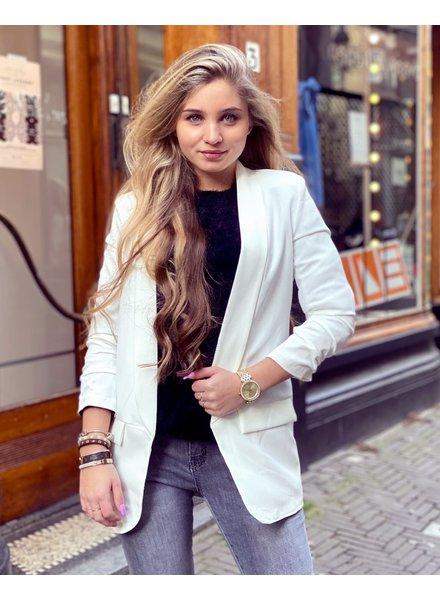 Skylar Blazer - White