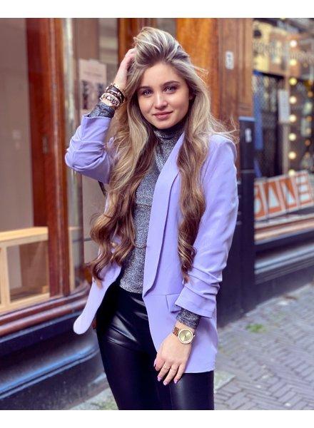 Skylar Blazer - Lilac