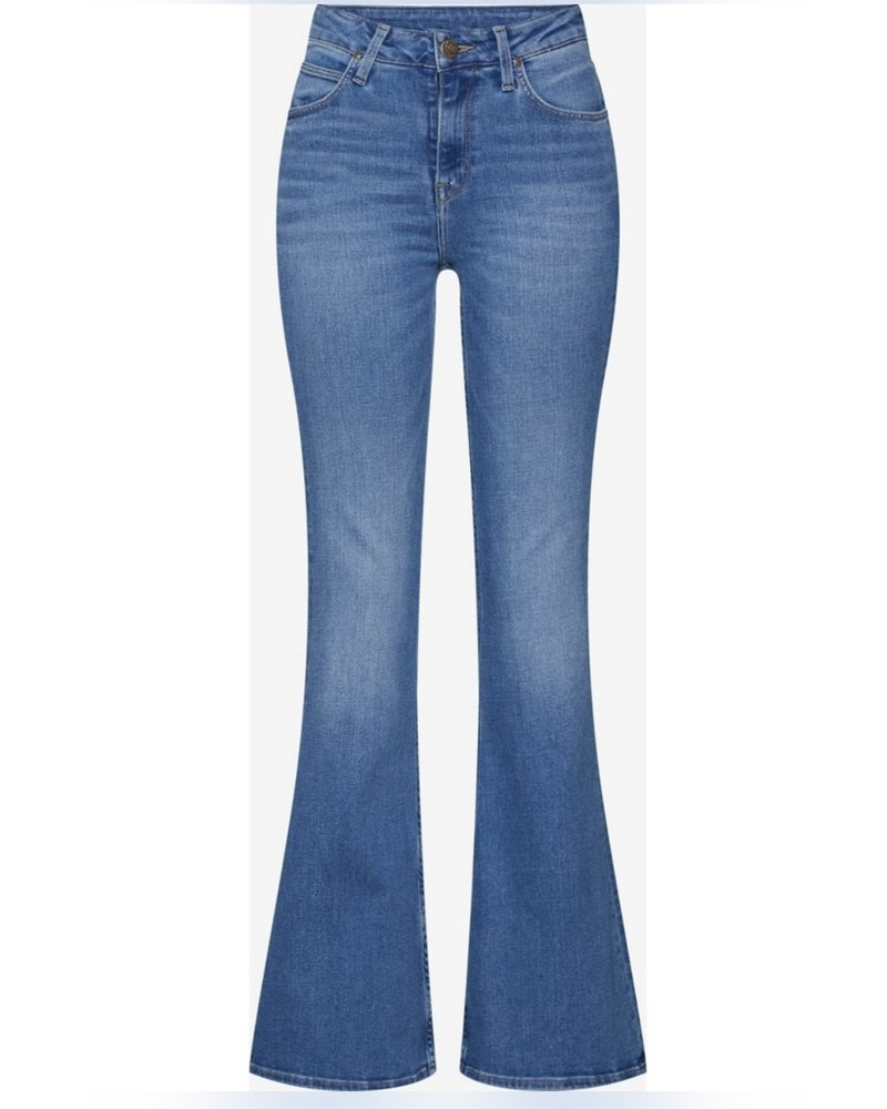 Coco Flared Jeans - Blue