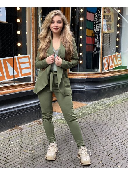 Sara Suit - Army Green