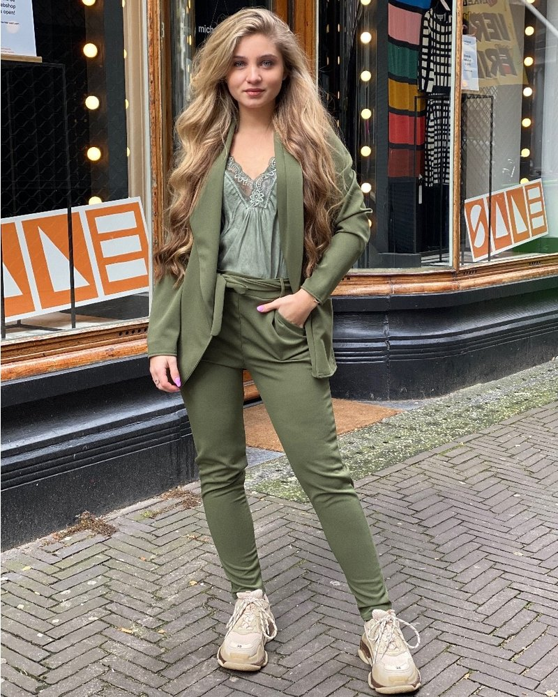 Sara Suit - Army Green