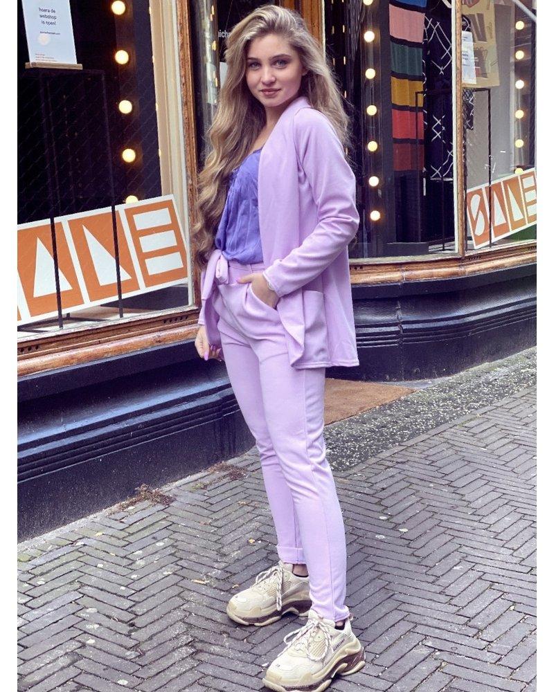 Sara Suit - Lilac