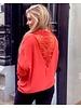 Gigi Lace Blouse - Orange