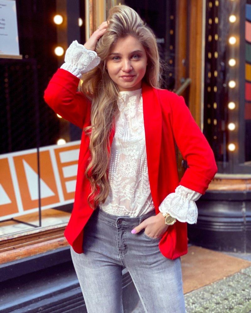 Monica Blazer - Red