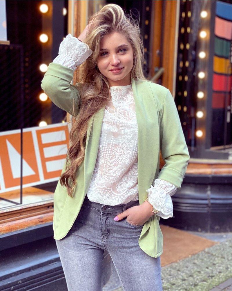 Monica Blazer - Light Green