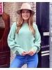 Lena Balloon Sleeve Sweater - Mint