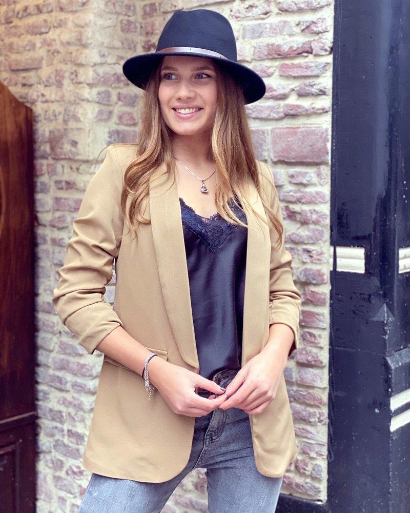 Vanessa Blazer - Camel