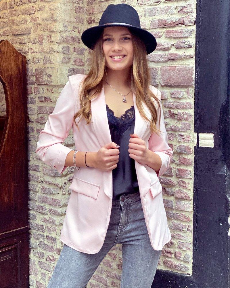 Vanessa Blazer - Pink