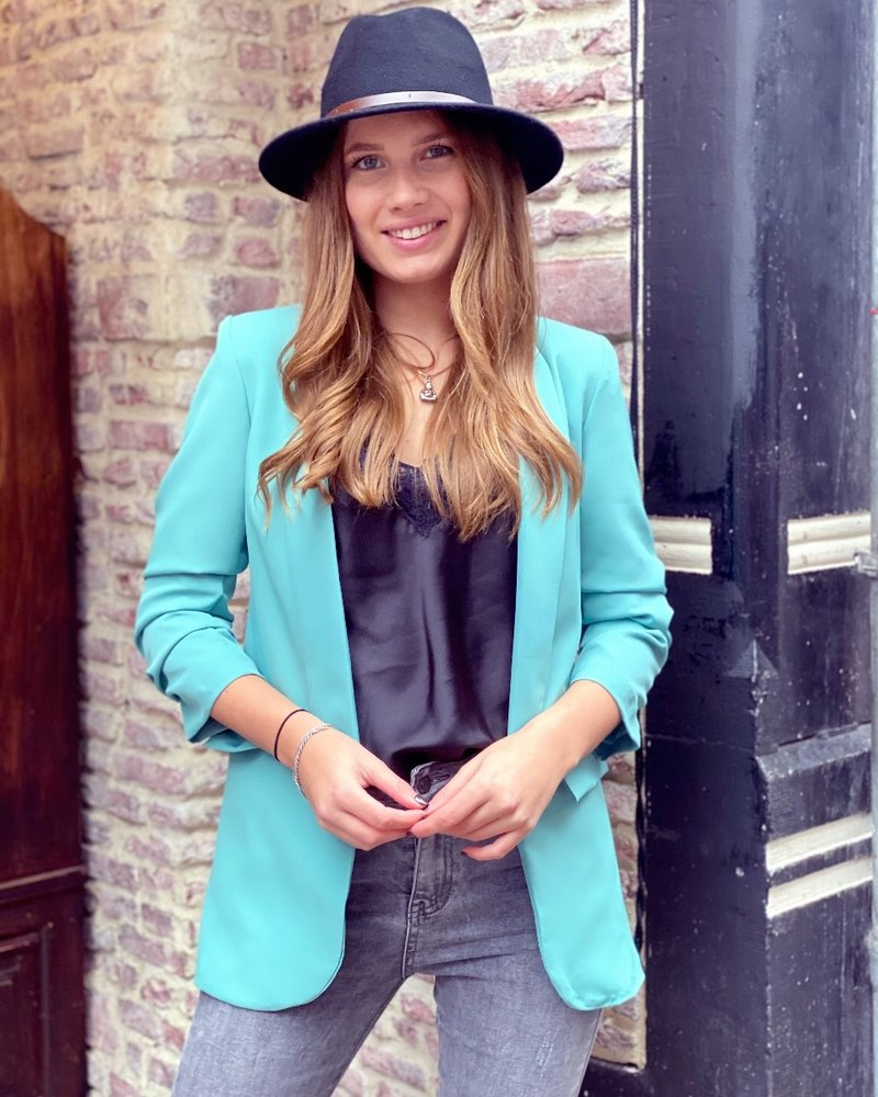 Vanessa Blazer - Mint