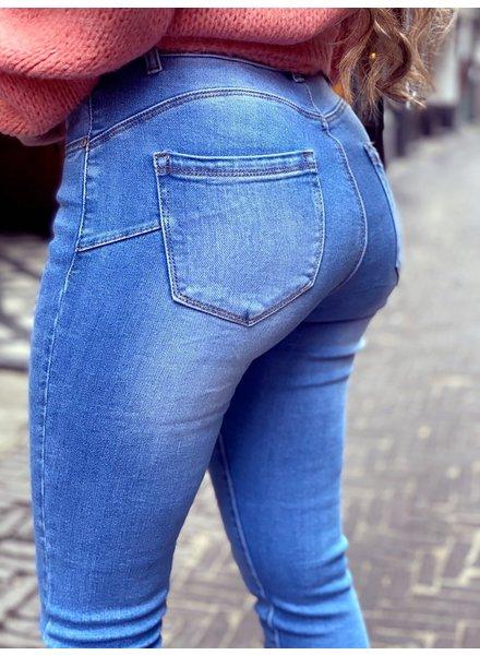 Romy Push Up Jeans - Blue