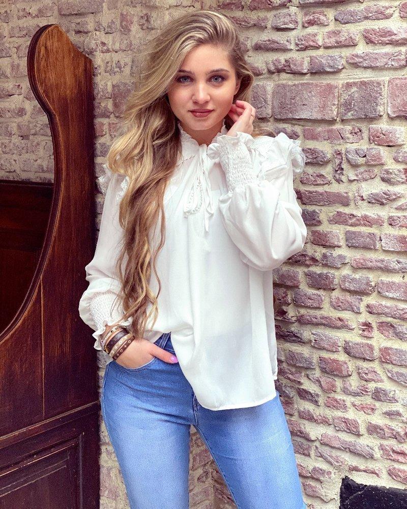 Vivienne Blouse - White