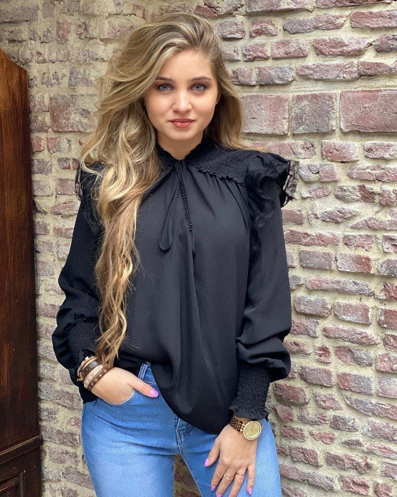 Vivienne Blouse - Black
