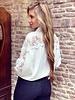 Maya Lace Blouse - White