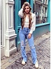 Lana Lace Crop Top - White