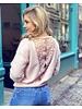 Rosa Lace Sweater - Light Pink