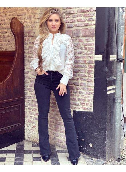 Haley Flared Jeans - Black