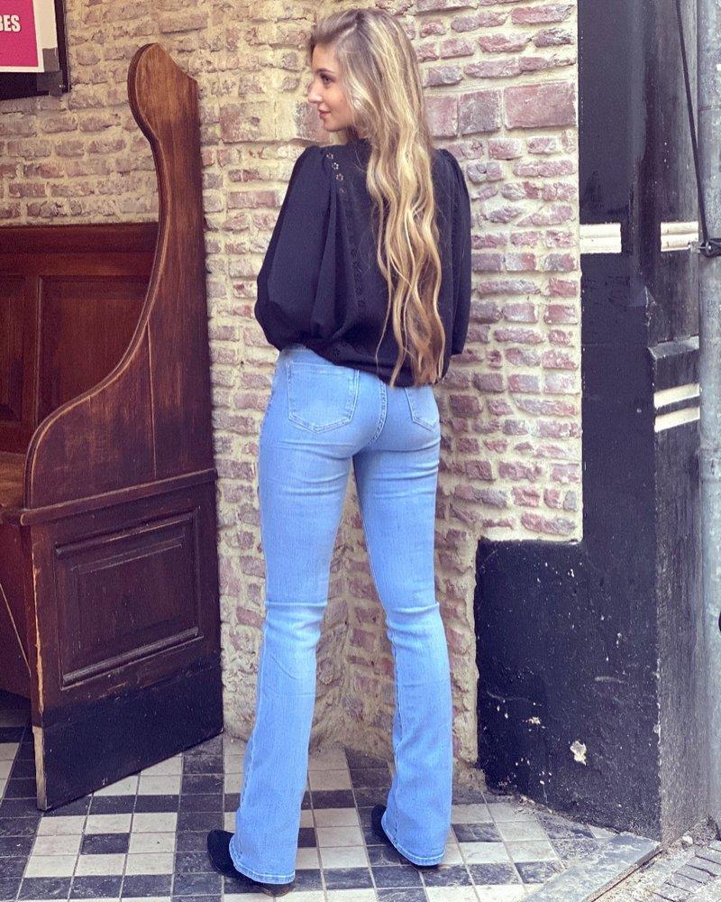 Charlie Flared Jeans - Light Blue