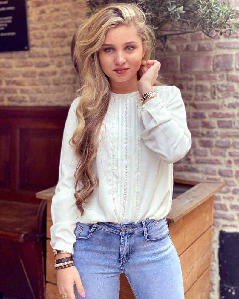 Rose Blouse - White