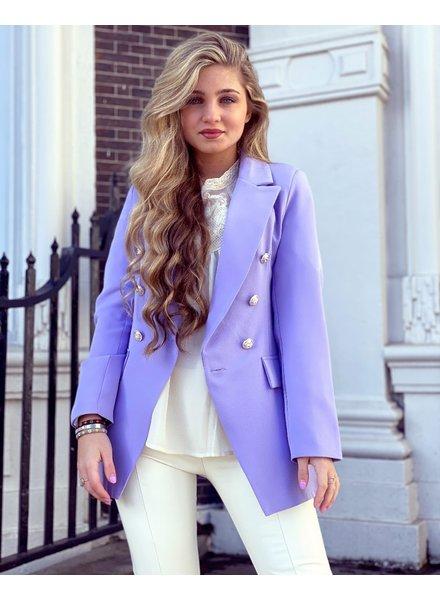 Sasha Blazer - Lilac