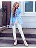 Sasha Blazer - Light Blue