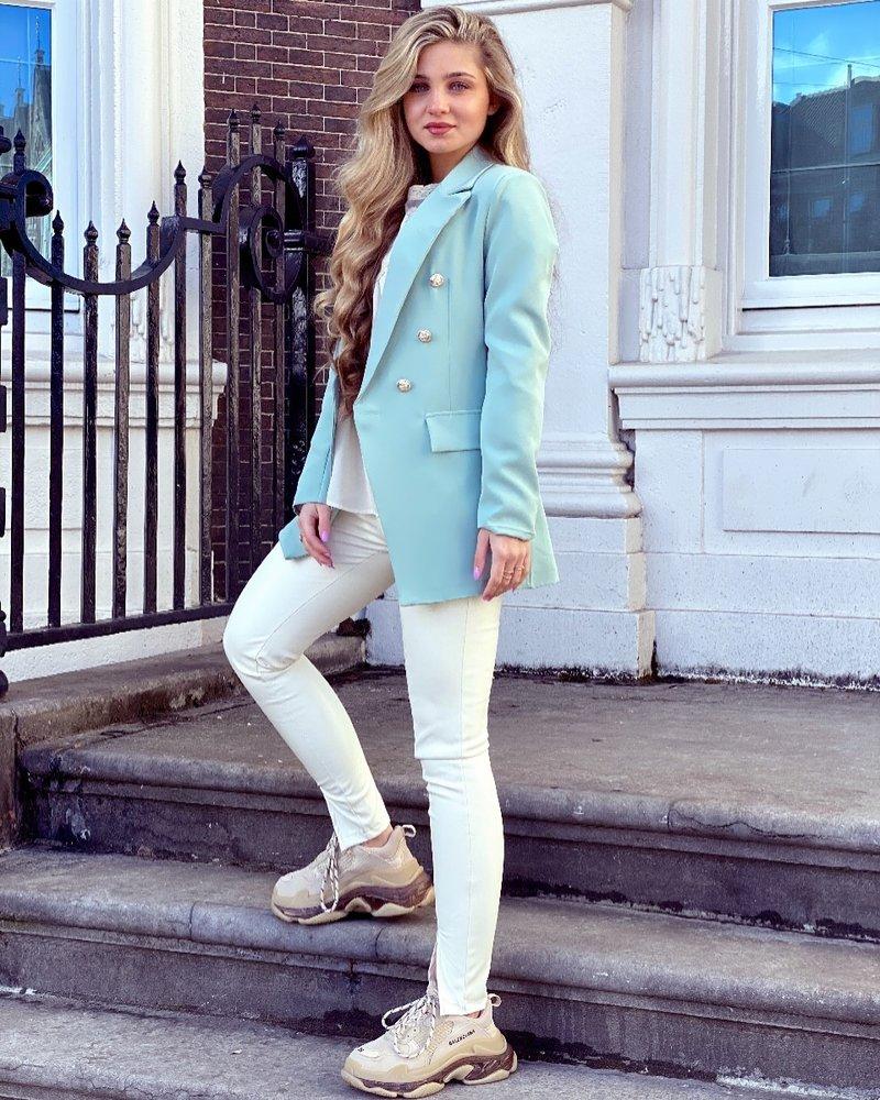 Sasha Blazer - Mint