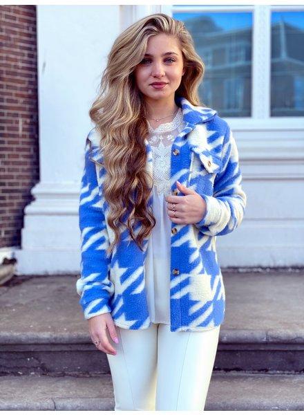 Isabella Coat - Blue