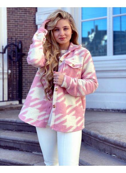 Isabella Coat - Pink