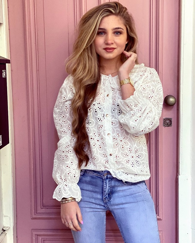 Lilly Blouse - White