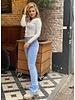 Haley Flared Jeans - Light Blue