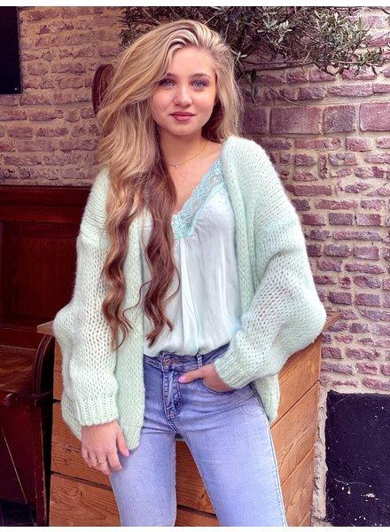 Lucy Vest - Mint