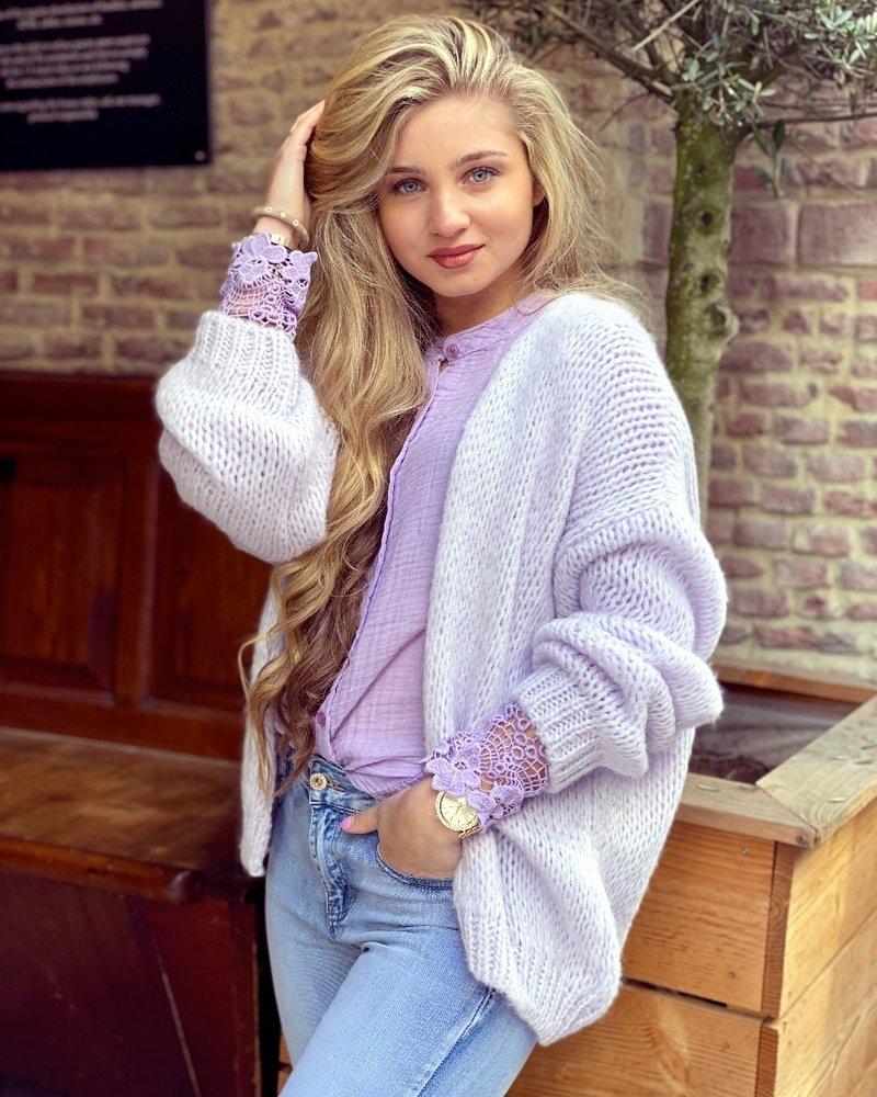 Lucy Vest - Pastel Lila