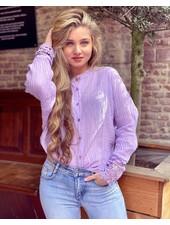 Saige Blouse - Lilac