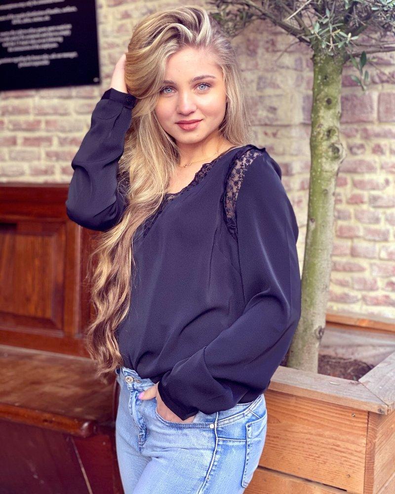 Blaire Blouse - Black